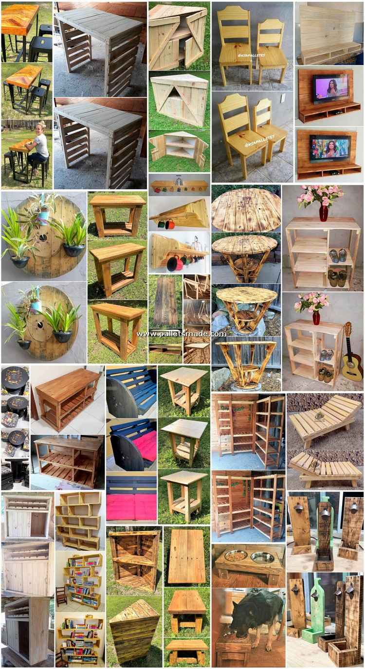 Classy DIY Ideas Made with Shipping Pallets