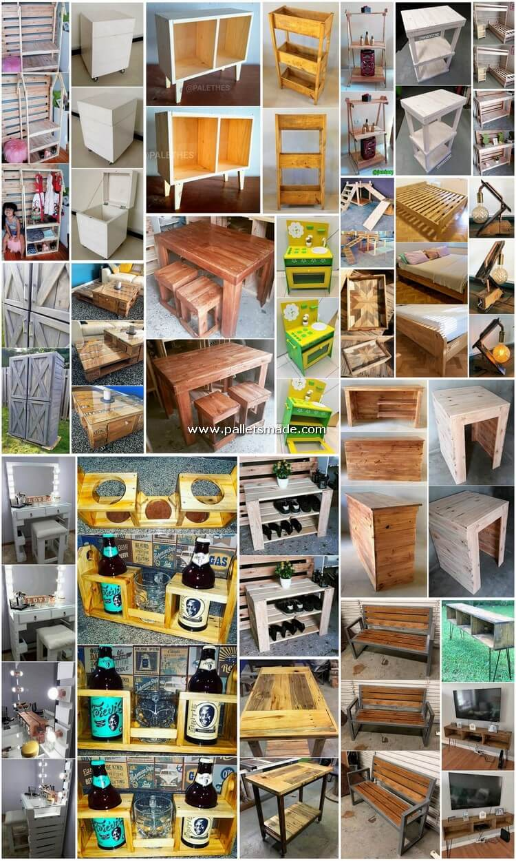Dazzling Ideas Made Out of Recycled Pallets