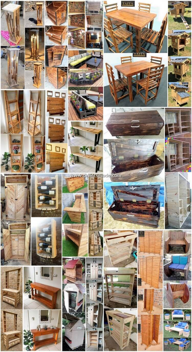 Innovative Creations Made with Shipping Pallets