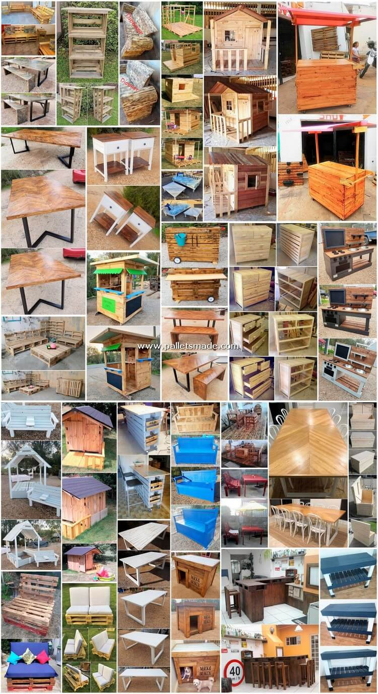 Remarkable Wood Shipping Pallet Recycling Projects