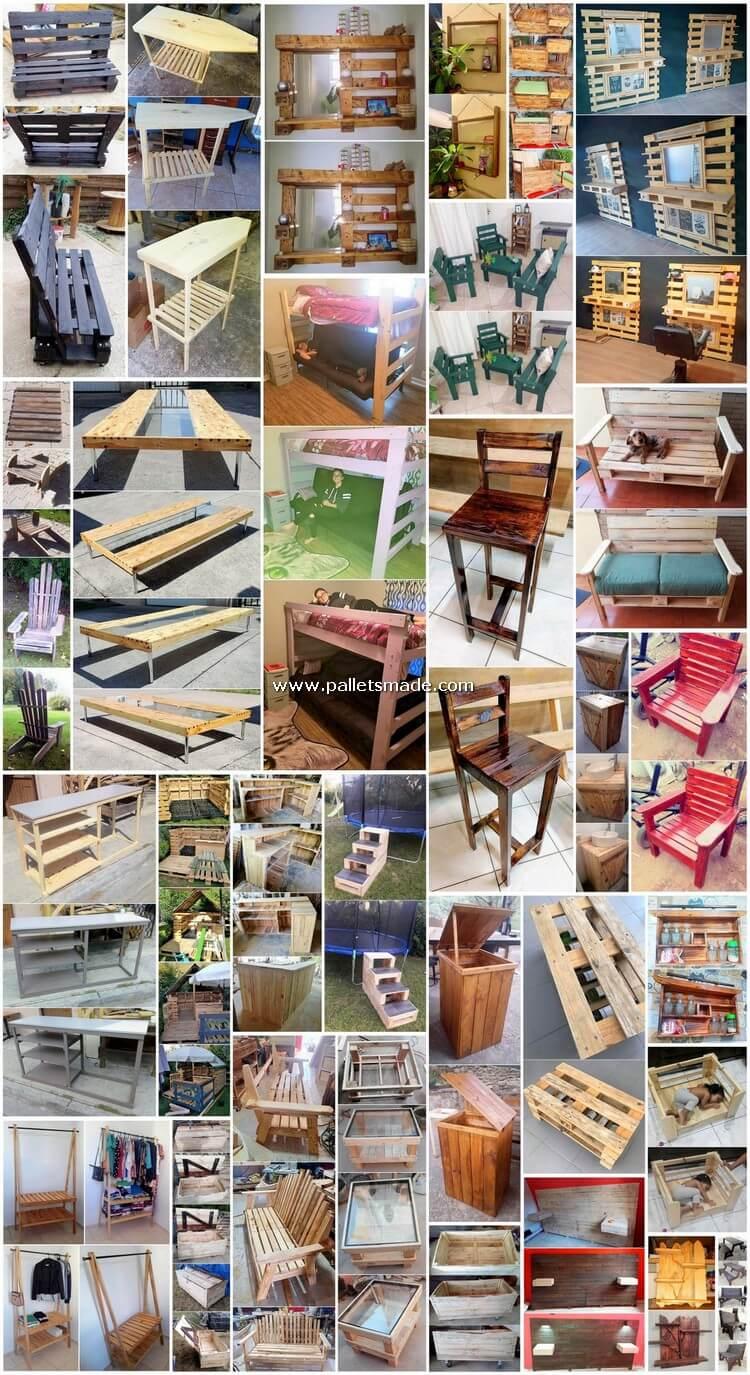 30 Fabulous Ideas for Wood Pallet Reusing