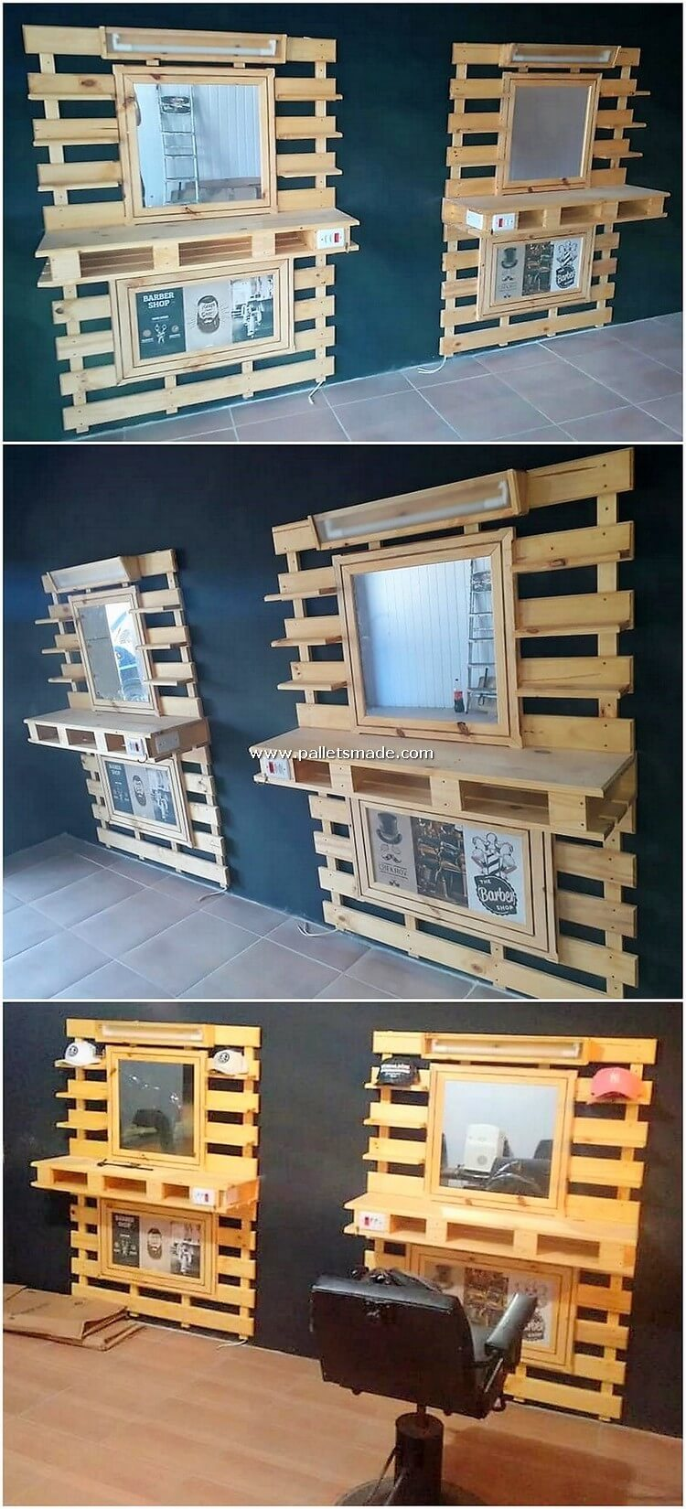 Pallet Dressing Tables