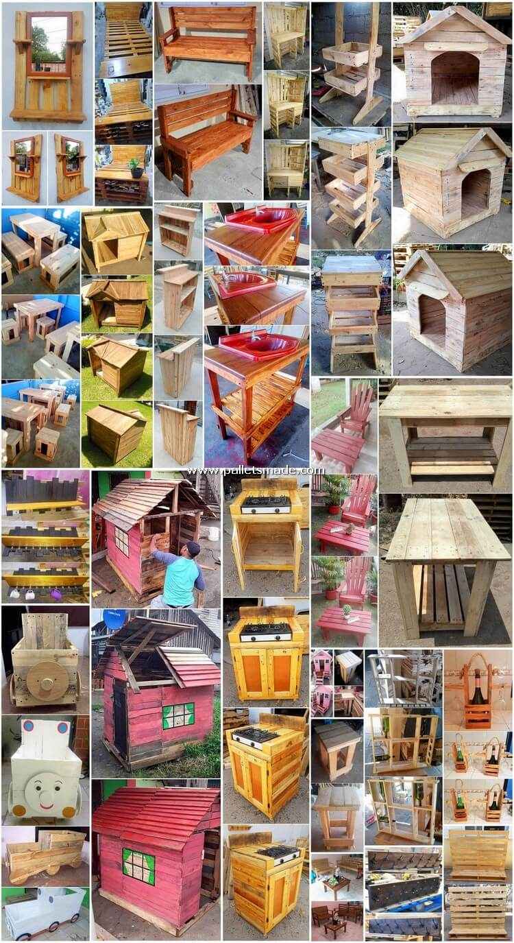 Perfect DIY Creations Made from Recycled Pallets