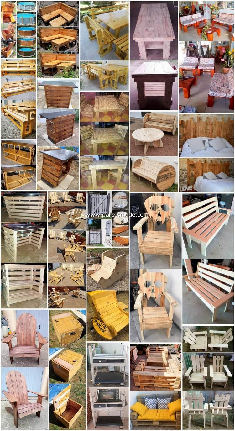 Useful and Cheap DIY Shipping Pallets Projects