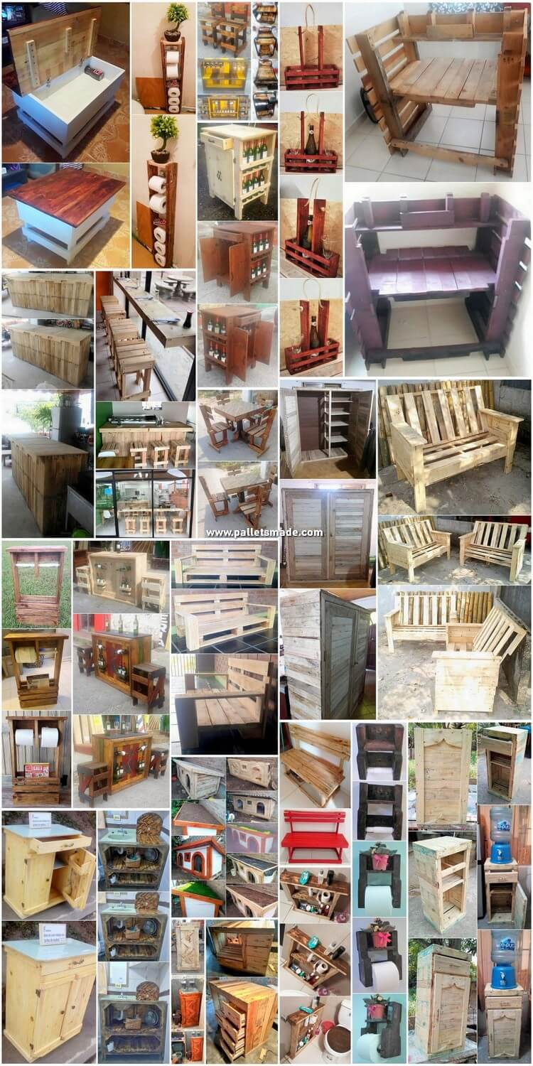 20+ DIY Wood Shipping Pallet Reusing Projects