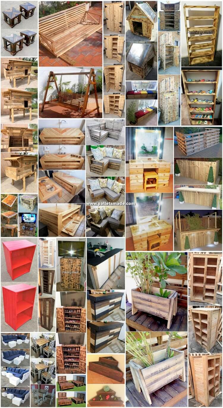 Creative Wood Pallet Projects and DIY Ideas