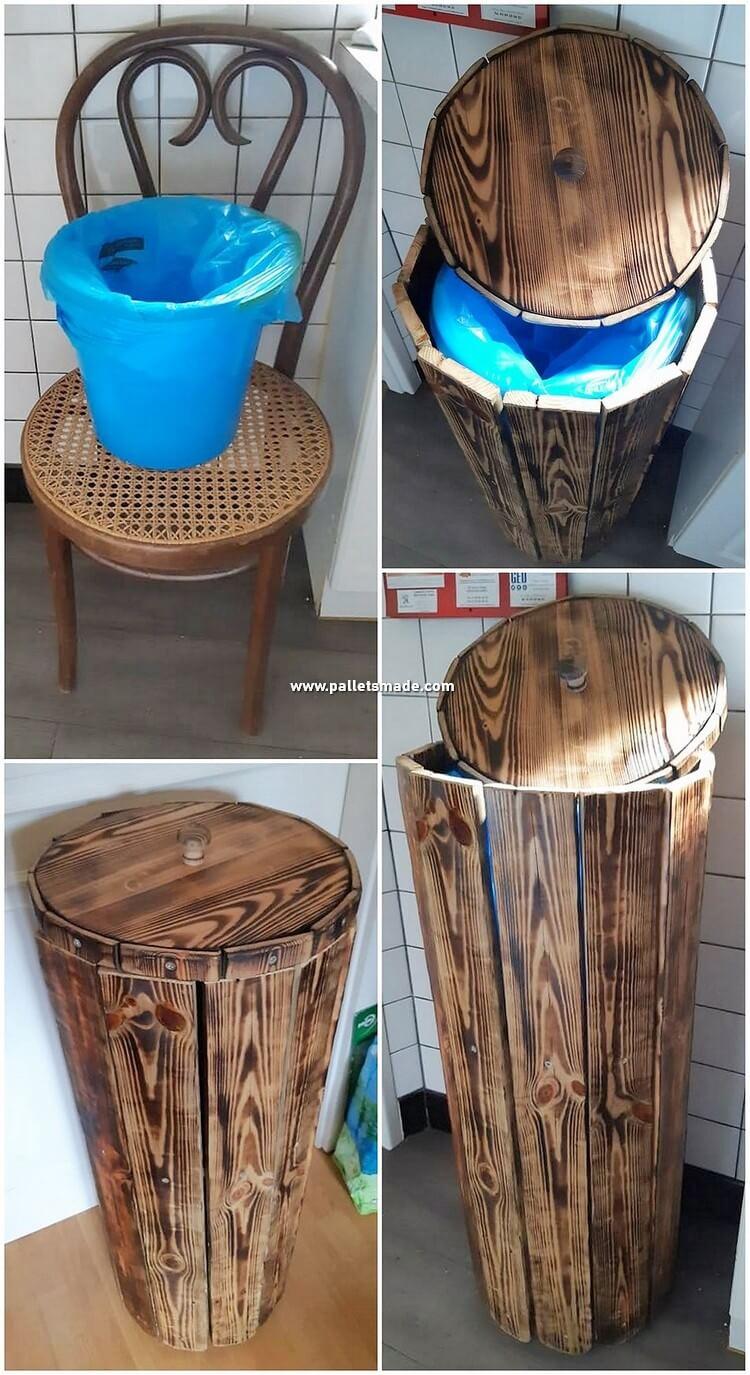 DIY Pallet Basket