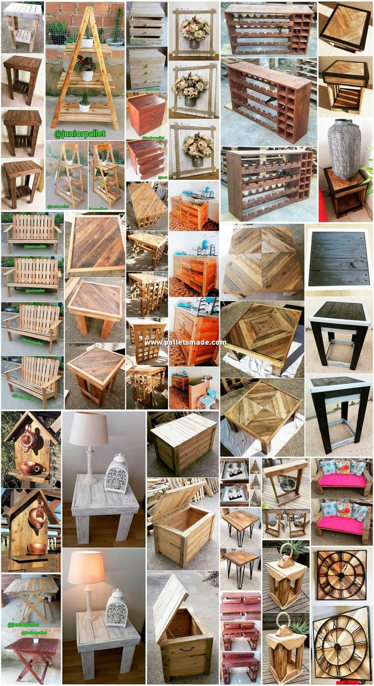 Inventive DIY Ideas Made with Shipping Pallets
