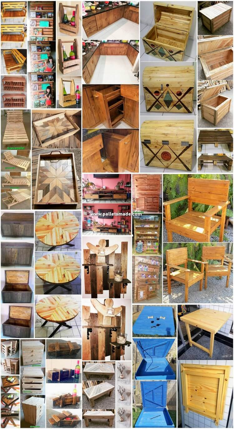 Low Cost DIY Wood Pallet Creations and Crafts