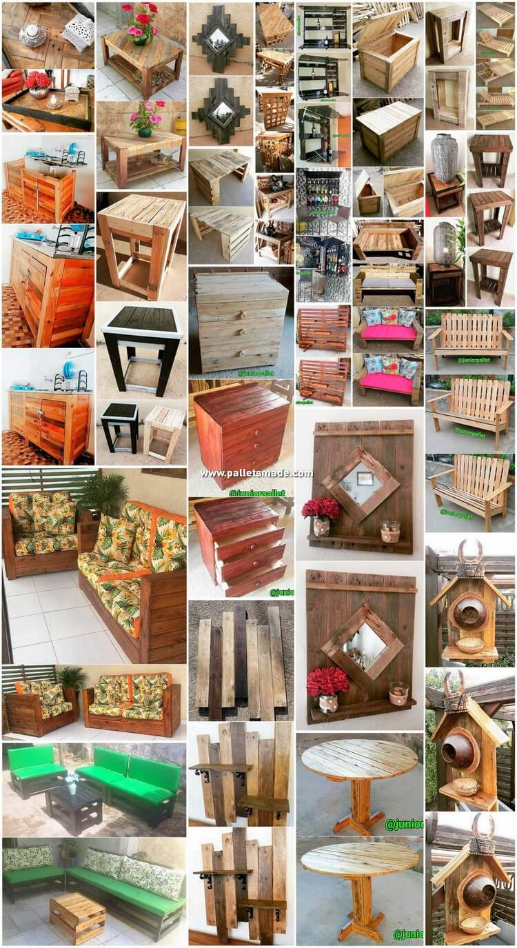 Modern DIY Projects Made With Recycled Pallets