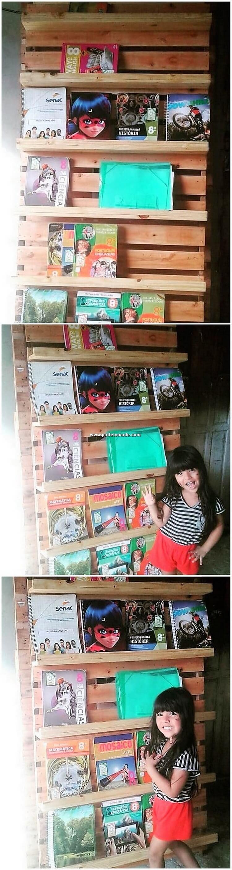 Pallet Bookshelving