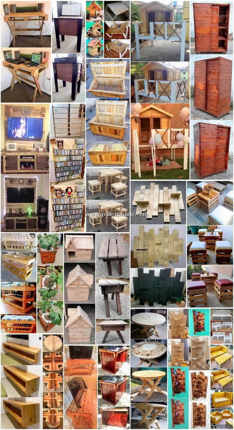 Impactful Projects Made Out of Shipping Pallets