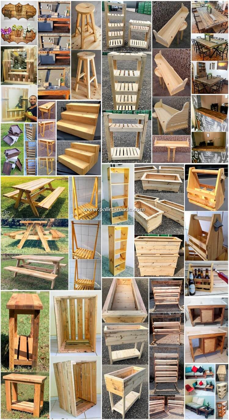 Intellectual Wooden Pallet DIY Furniture Projects