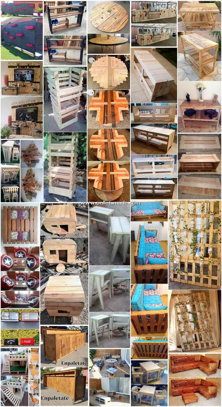 Mind Arresting DIY Scraped Pallet Wood Creations