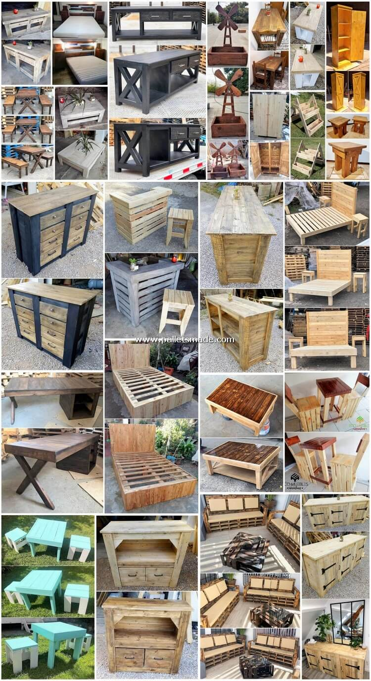 Distinctive DIY Wood Pallet Creations and Projects