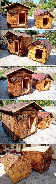 Pallet Pet Houses