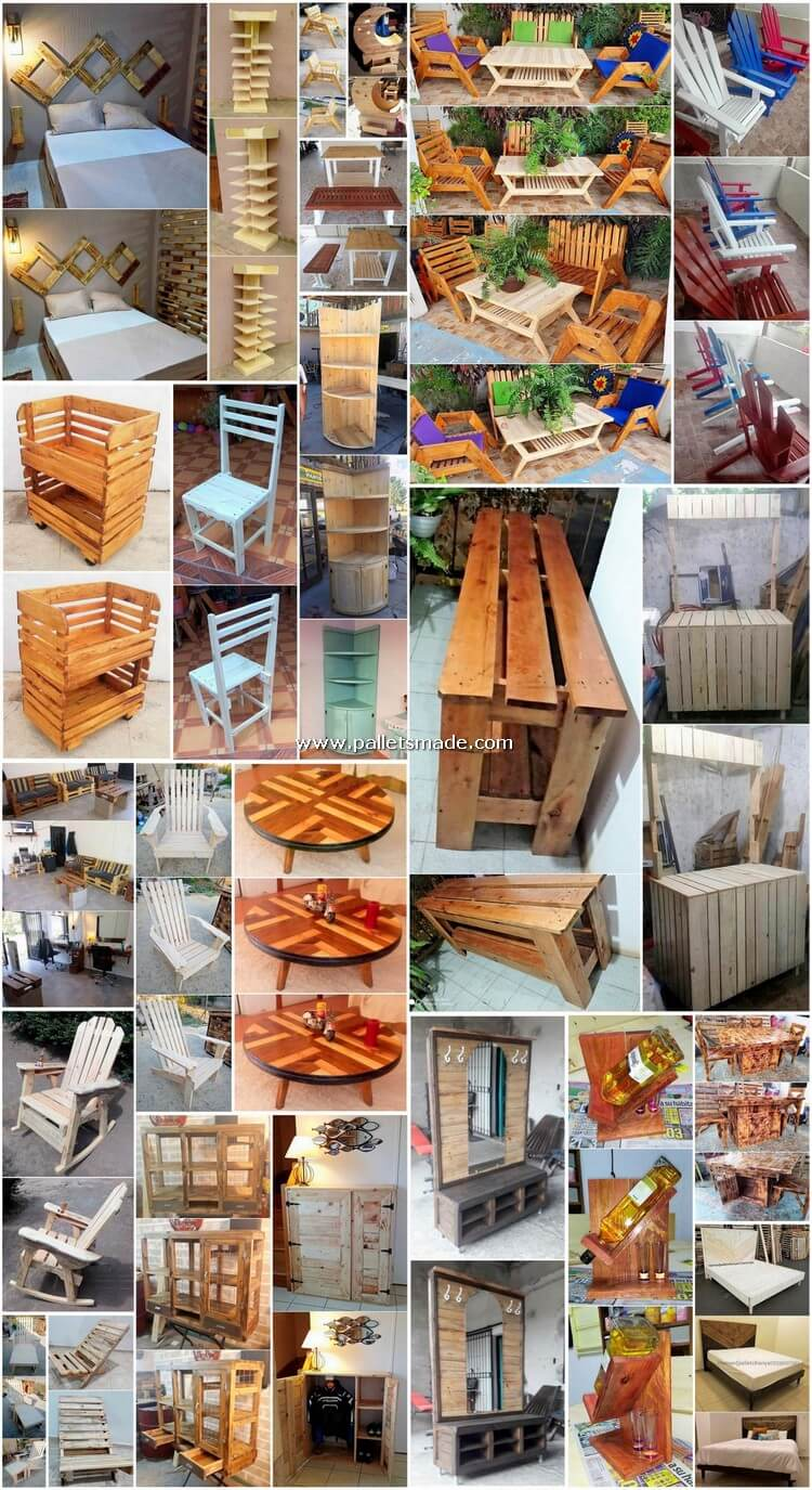 Appealing DIY Ideas with Recycled Pallets