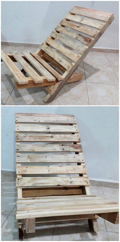 Pallet Folding Chair