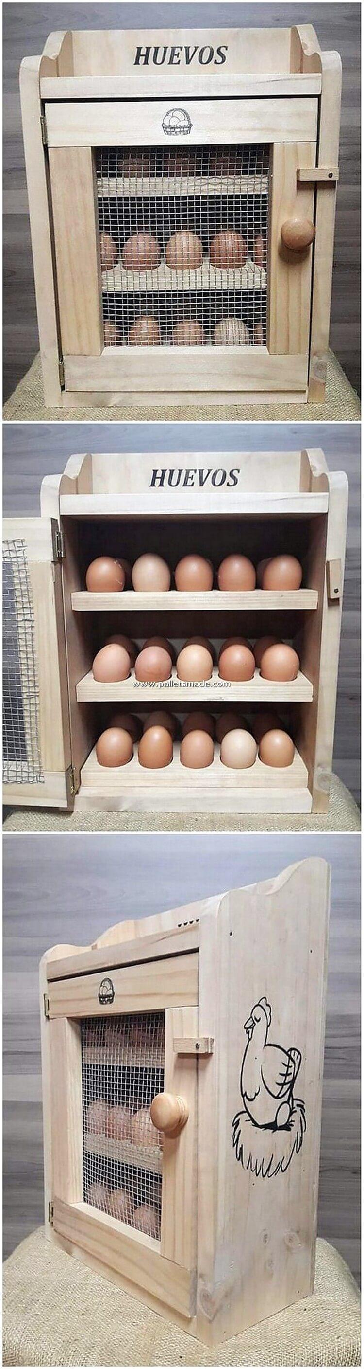 Pallet Mini Cabinet