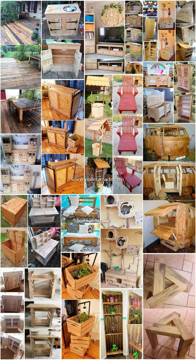 Pleasant DIY Projects Made Out of Shipping Pallets